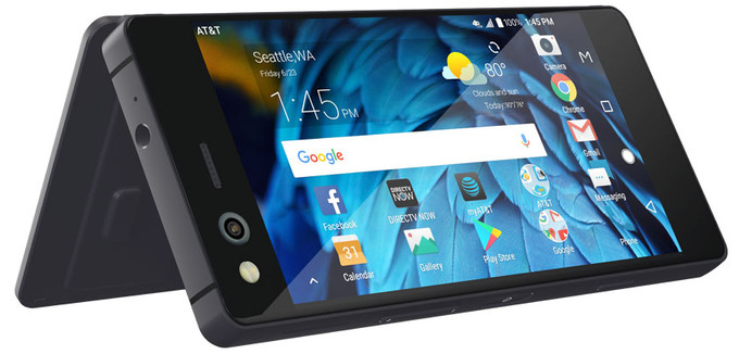 ZTE Axon M Foldable Phone with Dual Displays