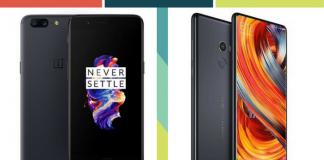 OnePlus 5 vs Xiaomi Mi Mix 2
