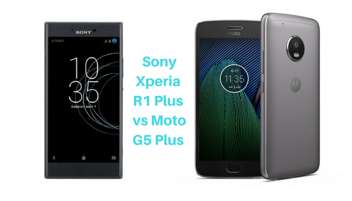 Sony Xperia R1 Plus vs Moto G5 Plus