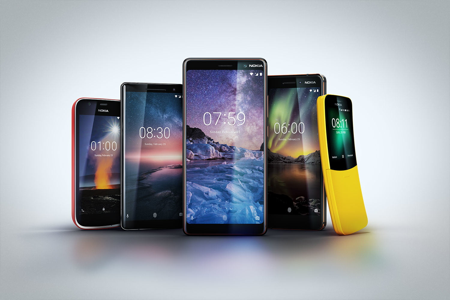 New Nokia Phones launched at MWC 2018