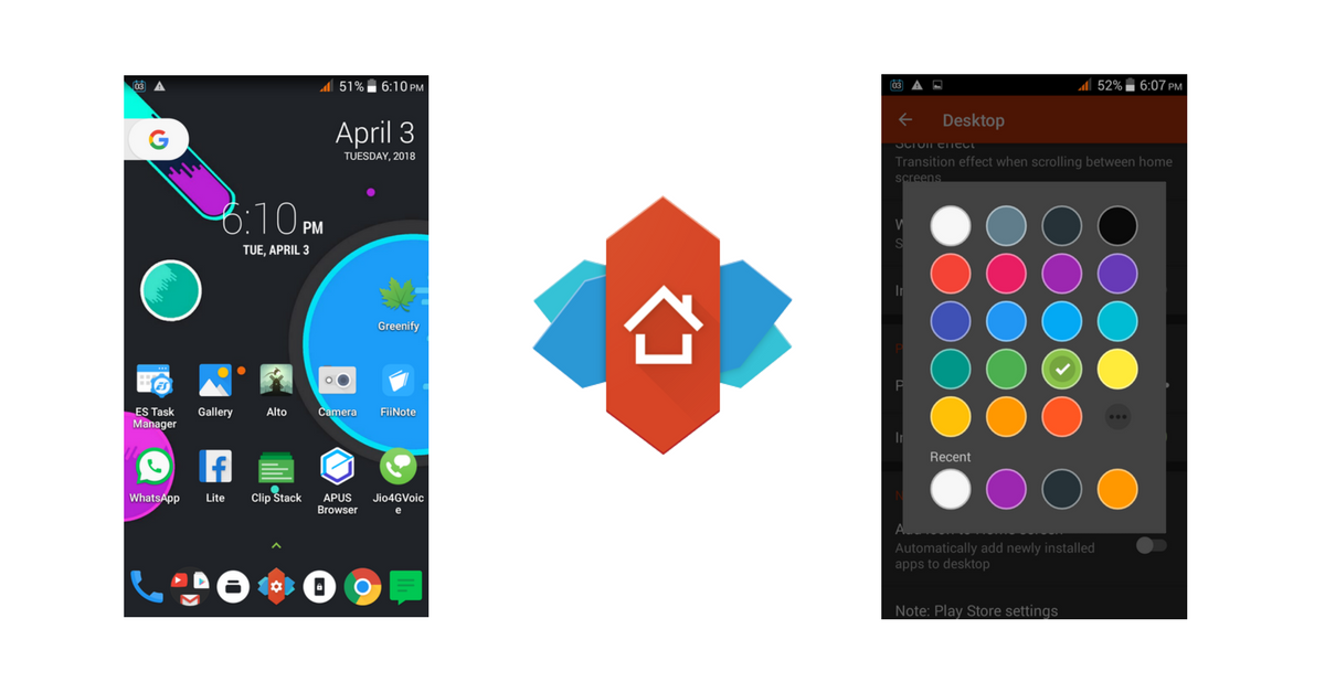 Nova Launcher Customization