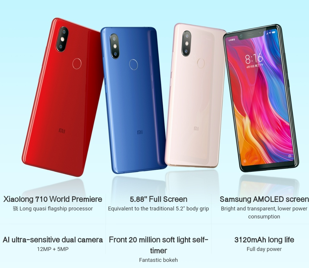 Xiaomi Mi 8 SE Specifications