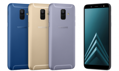 Samsung Galaxy A6 and A6+