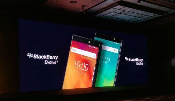 BlackBerry Evolve and Evolve X