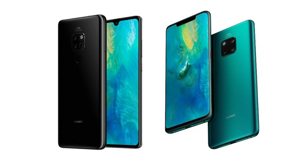 Huawei Mate 20 and Huawei Mate 20 Pro