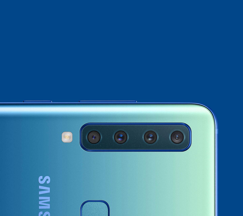 Samsung Galaxy A9 with Quad Rear Cameras