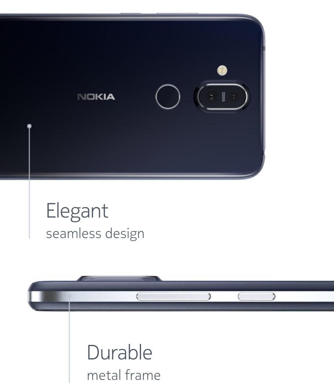 Nokia 8.1 Design