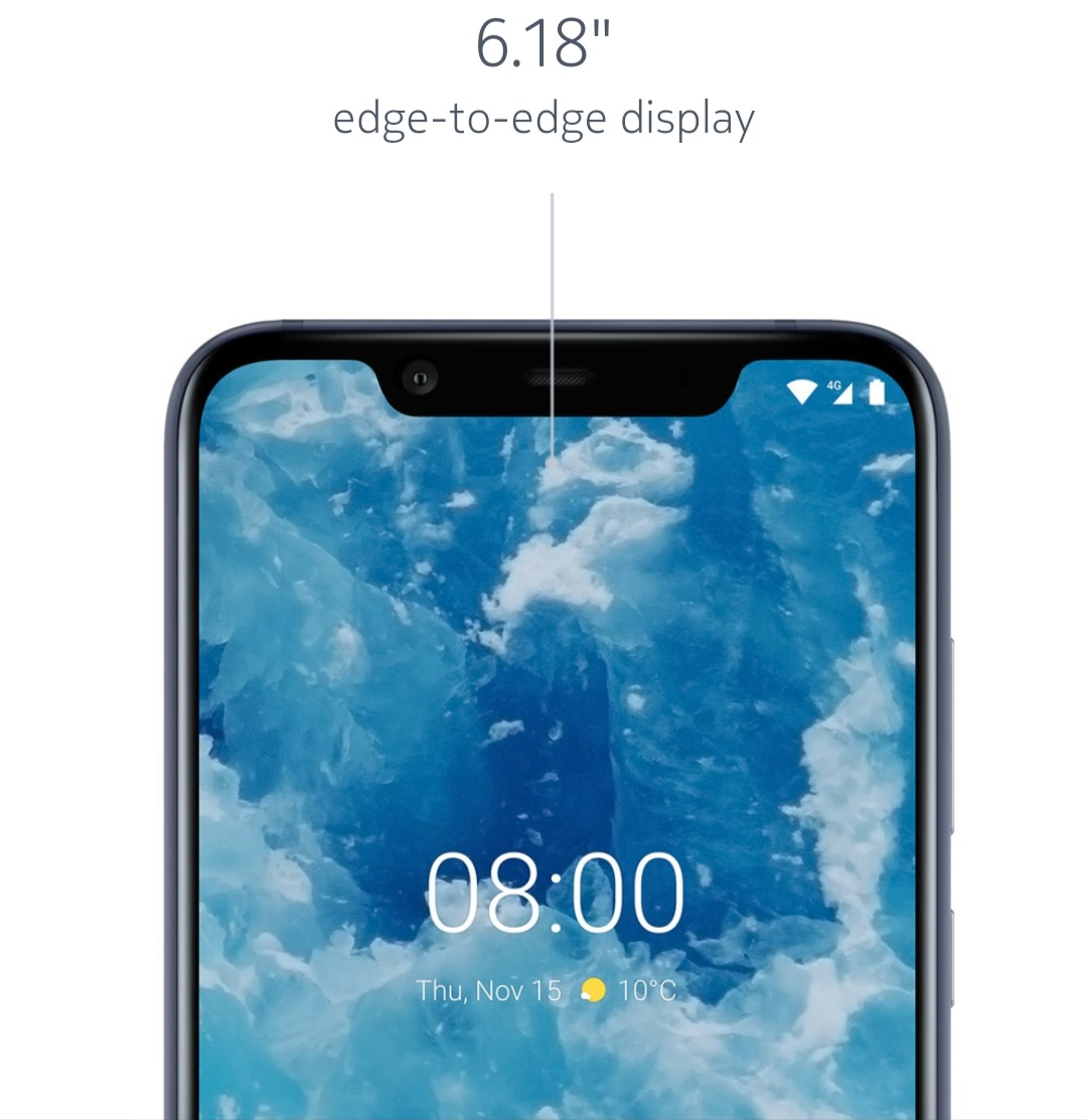 Nokia 8.1 Specifications