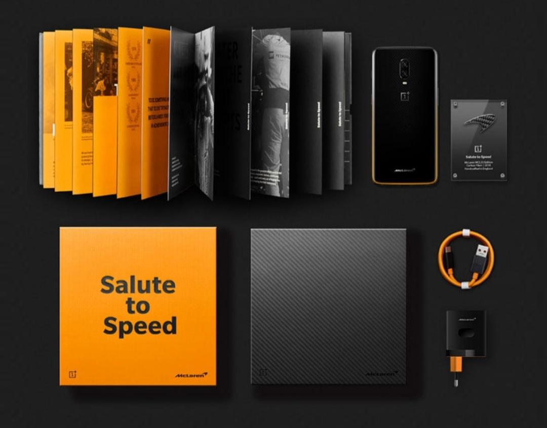 OnePlus 6T McLaren Edition Box