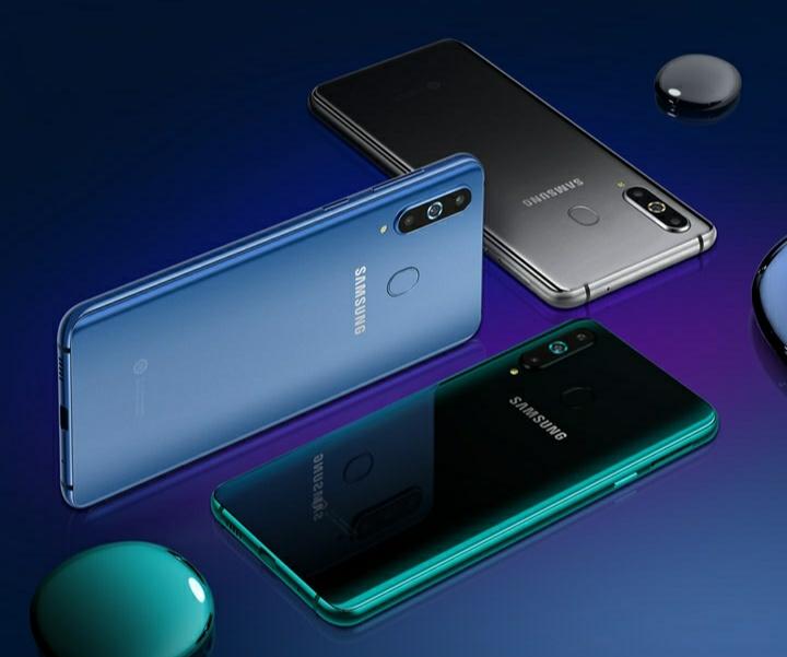 Samsung Galaxy A8s smartphone