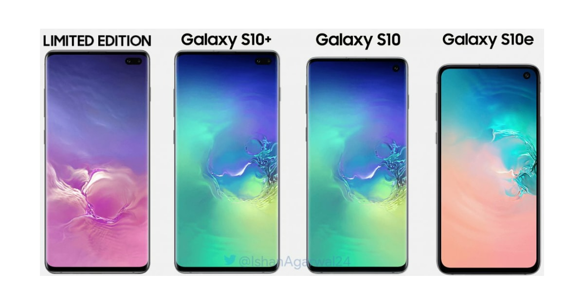 Samsung S10 Series Full Specs
