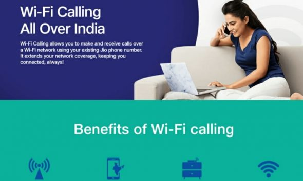 Jio WiFi calling supported devices list